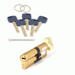 Цилиндровый механизм Апекс Premier XR-80 (35C/45)-C15-G золото кл/верт. перфо
