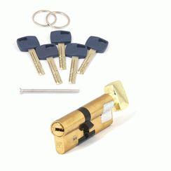 Цилиндровый механизм Апекс Premier XR-90 (40/50C)-C15-G золото кл/верт. перфо