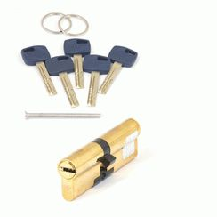 Цилиндровый механизм Апекс Premier XR-100 (45/55)-G  золото кл/кл. перфо