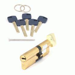 Цилиндровый механизм Апекс Premier XR-100 (45C/55)-C15-G золото кл/верт. перфо