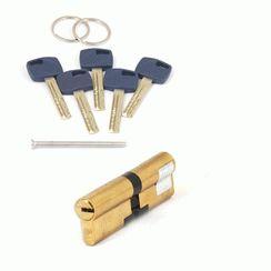 Цилиндровый механизм Апекс Premier XR-100-G  золото кл/кл. перфо