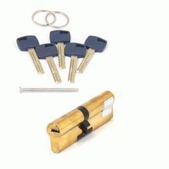 Цилиндровый механизм Апекс Premier XR-110 (50/60)-G  золото кл/кл. перфо