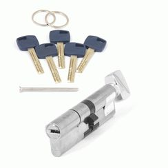 Цилиндровый механизм Апекс Premier XR-110 (50C/60)-C15-NI никель кл/верт. перфо