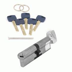Цилиндровый механизм Апекс Premier XR-110-C15-NI  никель кл/верт. перфо
