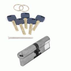 Цилиндровый механизм Апекс Premier XR-110-NI  никель кл/кл. перфо