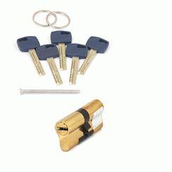 Цилиндровый механизм Апекс Premier XR-70-G  золото кл/кл. перфо