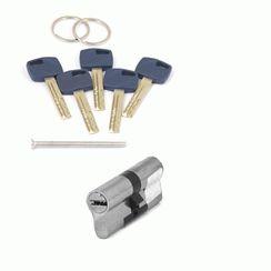 Цилиндровый механизм Апекс Premier XR-70-NI  никель кл/кл. перфо