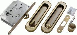 Комплект для раздвижных дверей Morelli MHS150 WC AB бронза