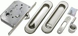 Комплект для раздвижных дверей Morelli MHS150 WC  SC матовый хром