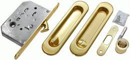 Комплект для раздвижных дверей Morelli MHS150 WC SG матовое золото