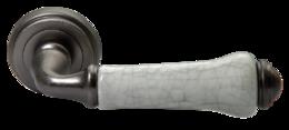 Ручки дверные Morelli MH-41-CLASSIC OMS/GR старое античное серебро/серый