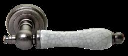 Дверные ручки Morelli MART MH-42-CLASSIC OMS/GR старое античное серебро/серый