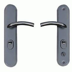 Комплект дверных ручек   Ellipse (No-Key)ML-200