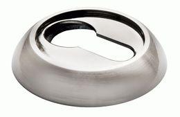 Накладка под цилиндр Morelli MH-KH SN/BN белый никель/черн. никель