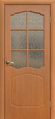 Дверь ПВХ остекленная Классика