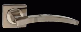 Комплект ручек PUERTO AL 520-02 BN/SN черный никель/никель мат.