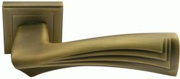 Ручка дверная Morelli Волны MH-34 COF-S кофе