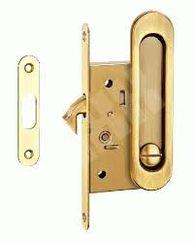 Ручки для раздвижных дверей  мат.латунь SDH 501 SG