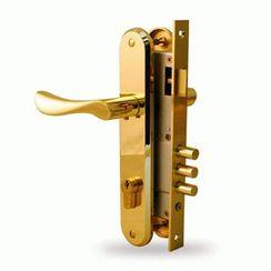 Стяжка для крепления ручек врезных замков Золото